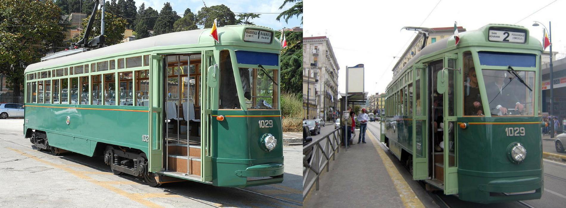 Il ritorno a Napoli delle vecchie linee del tram