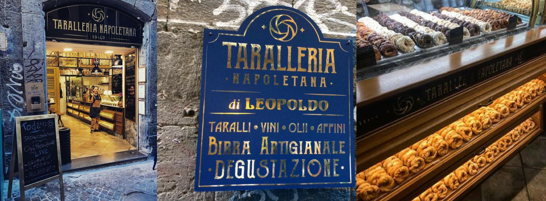 La taralleria napoletana:novità in casa Leopoldo