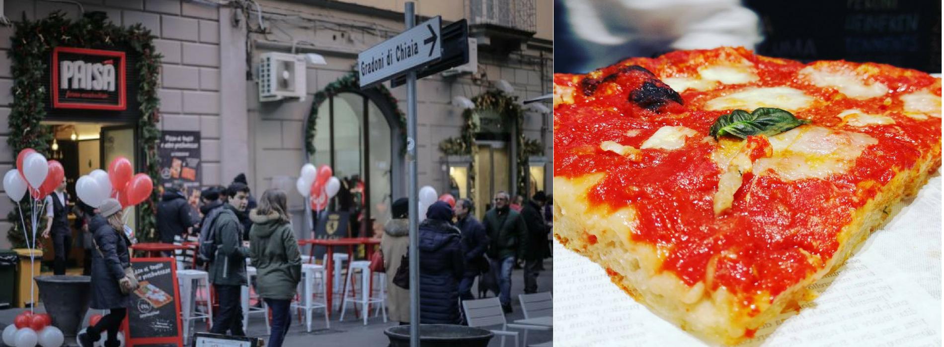 Nasce un nuovo fast food a via Chiaia:Paisà