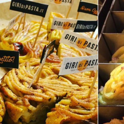 Apre al Vomero Giri di Pasta:  il take away di frittate di pasta