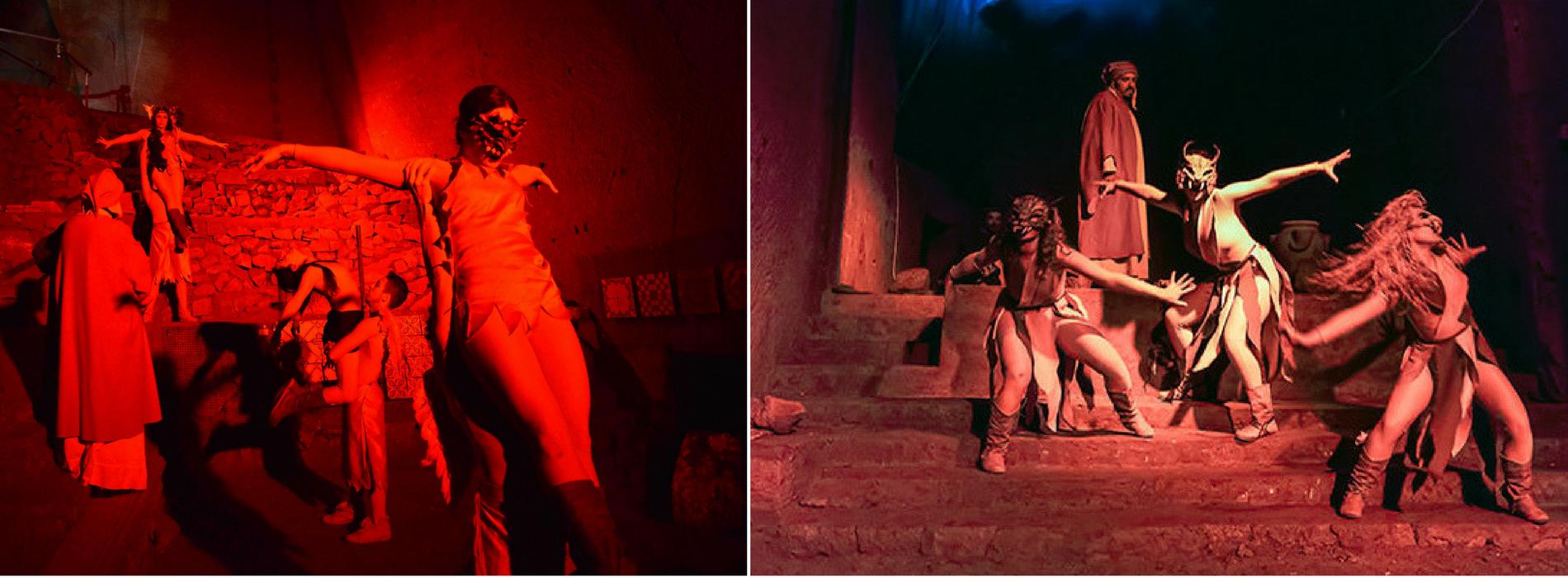 L'Inferno di Dante al Museo del Sottosuolo di Napoli