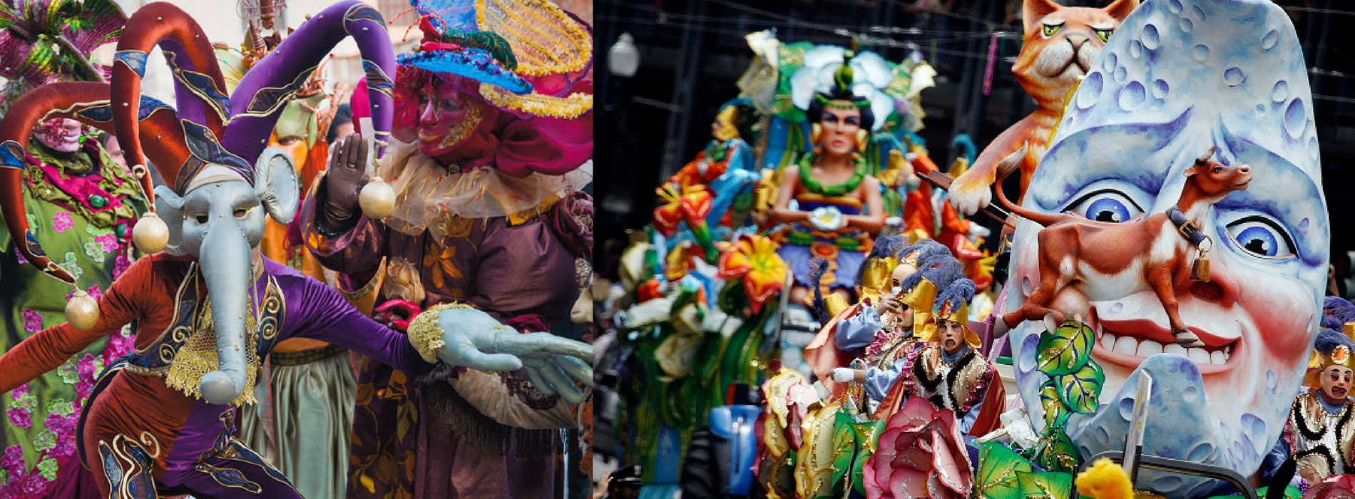 Carnevale 2018 a Caserta: sfilata dei carri in Reggia e in città