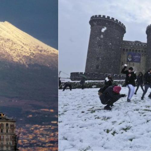 Le storiche nevicate a Napoli