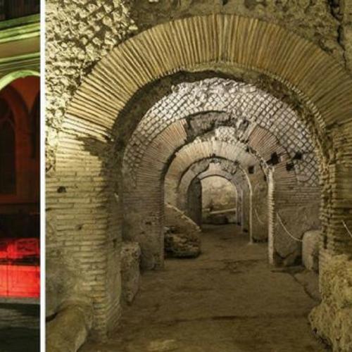 Tour notturno e aperitivo alla Neapolis Sotterrata aprile 14