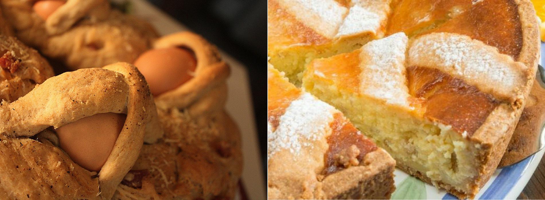Il Casatiello e la pastiera : i piatti pasquali dei napoletani