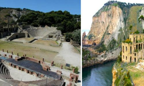 Tour alla Grotta di Seiano e al Parco Archeologico del Pausilypon