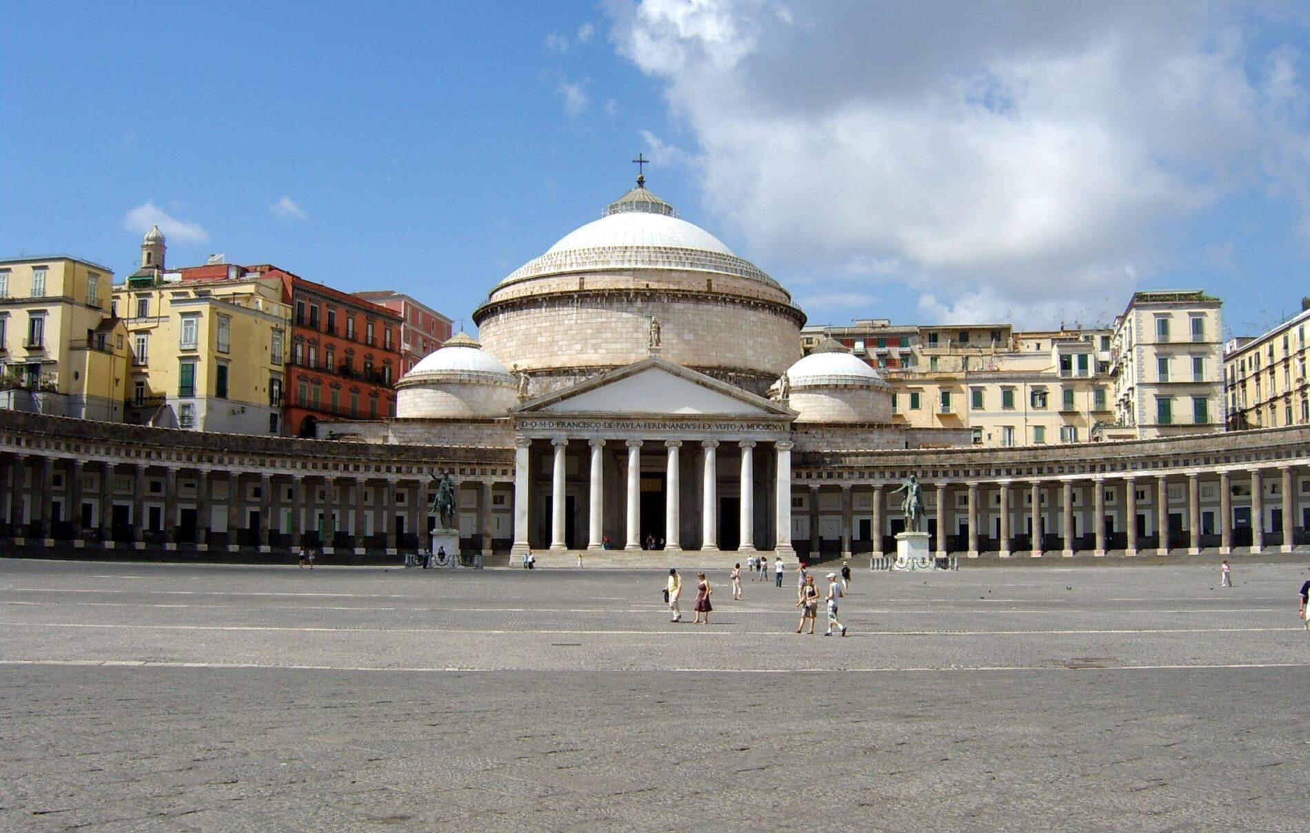 Le tre piazze più belle di Napoli